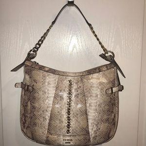 Guess natural Abbey Ray handbag